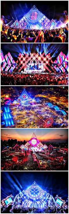 The Villa Mix Festival Goiânia Edição 2015 set a world record for the Largest stage rig for a music concert, usurping the title from veteran rock band U2.   Hosting some of the biggest names in Brazilian music and attended by approximately 48,000 people, it's an amazing site.   #brazil #lights #music #exotic #rhythm #stage #show #concert #tour #adventure #travel #colors #views #latin #culture #band #performer #performance #sing #singer