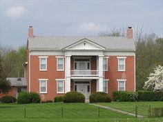 Historic Farm House East Of Lexington Missouri