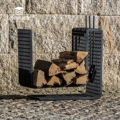 BOLD Fireplace Support Wood Holder 3D Grating Severa Finnishings Wood Storage, Three Dimensional, Concept, 3d, Crafts, Design, Lumber Storage, Design Comics, Arts And Crafts