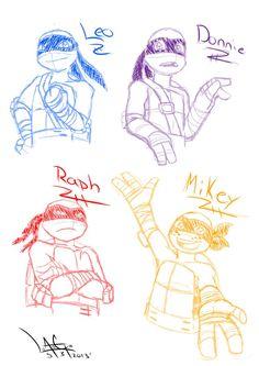 TMNT Sketch