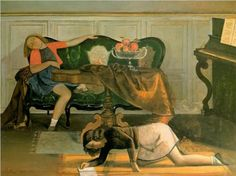 Drawing Room - Balthus