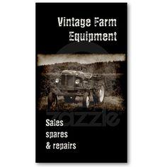 86 best rural business cards images on pinterest business cards vintage tractor business card colourmoves