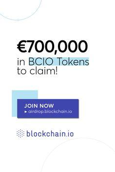 1M BCIO Tokens to claim!