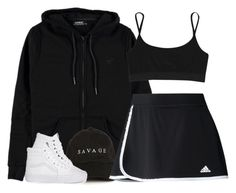 """London Bridge"" by oh-aurora ❤ liked on Polyvore featuring Voi Jeans, adidas, Vans and T By Alexander Wang"