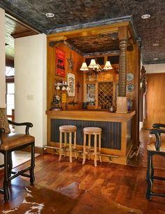 Six Ways to Design a Southwest Bar or Man Cave   Saddleblanket Home Collection Southwest Interior Design Center