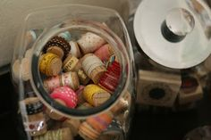 WIne corks: How to store ribbon left overs