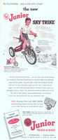 AMF Junior Sky Trike 1954 Ad Picture