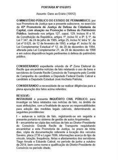 Blog do Oge: Aberto inquérito contra Danilo Cabral por suposto ...