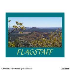 FLAGSTAFF Postcard