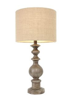 Distressed Textured Table Lamp