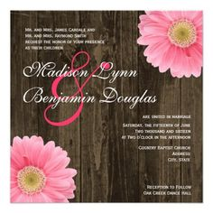 This DealsRustic Wood Pink Daisy Square Wedding Invitationsyou will get best price offer lowest prices or diccount coupone