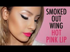 Easy Smoked out wing - Hot Pink Lip - YouTube