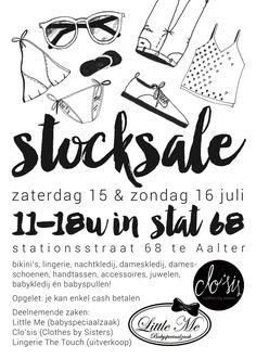 Stocksale Clo'sis & Little Me! -- Aalter -- 15/07-16/07