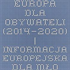 Europa dla obywateli (2014–2020) | Informacja europejska dla młodzieży