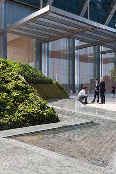 Sowwah Square by Martha Schwartz Partners