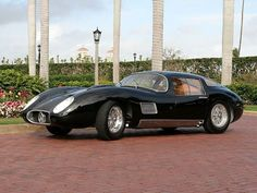 1957 Maserati Costin Zagato Coupe Maintenance of old vehicles: the material for new cogs/casters/gears/pads could be cast polyamide which I (Cast polyamide) can produce Maserati Biturbo, Maserati Car, Bugatti, Lamborghini, Classic Sports Cars, Classic Cars, Le Mans, Sport Cars, Race Cars