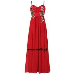 Dámske oblečenie   Dámske šaty   Little Mistress Embellished Maxi šaty červené   www.nells.sk - Parfumy, kozmetika a oblečenie svetových značiek.