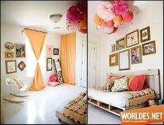 Стильные яркие комнаты для девочек. Дизайн детских комнат для девочек фото 10
