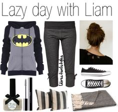 """""""Lazy day with Liam x"""" by corm-899 ❤ liked on Polyvore PERFECT FOR ME! :D"""