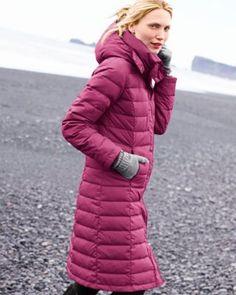 Long Puffer Coat / garnethill