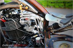 bikerMetric | custom honda yamaha metric bobbers, choppers, cafe racers, custom parts accessories: custom yamaha sr400 bobber | mark huang | new pics