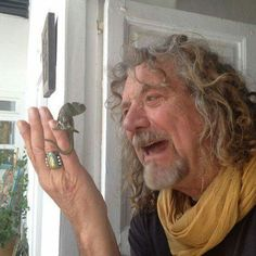 Robert Plant...this could be the most magical picture ever...