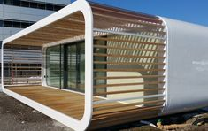 The mobile home can be placed in virtually any location.