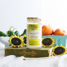 Meyer Lemon & Basil Farmstand Candle