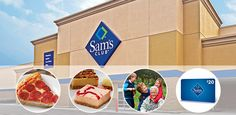 Sam's Club Membership {reg $91} just $25.00 after Gift Card + Free Pizza, Cheesecake, Canvas Print and $80 Instant Savings! -