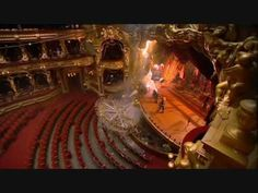 This is a video clip which shows the making of the famous Crashing of the Chandelier from the 2004 film/movie Phantom of the Opera, you see the preparation of the Chandelier Crash and it actually being performed with the stunt actors. Very interesting and very good quality!