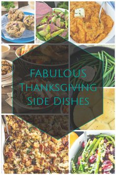 Prepping or making sides dishes a day or two before Thanksgiving is a huge time saver. This list includes a bunch of easy make-ahead recipe you'll love! Thanksgiving Side Dishes, Easy Projects, Prepping, Yummy Food, Lunch, Dinner, Cooking, Breakfast, Desserts