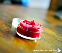 Homemade Beetroot Lip Gloss Recipe