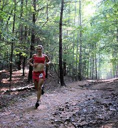 VHTRC Women's Half Marathon Trail Run- 2012