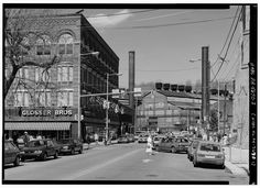 Old Glosser Bros store, Franklin and Locust sts.