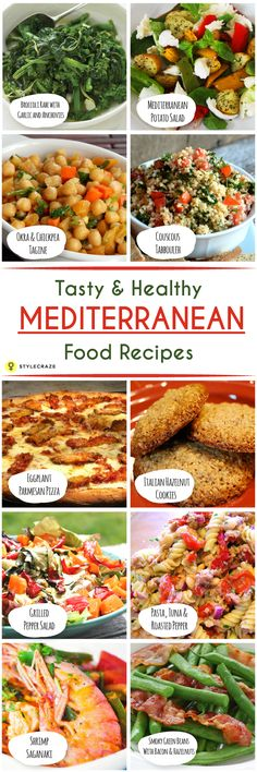 Most of the Mediterranean food recipes are rich in healthy oils and low in saturated fats – end result? Mouth-watering cuisine that is good for health. What else can one ask for? Here I have listed the top 10 Mediterranean food recipes that are healthy and easy to try: #foodrecipes