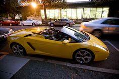 Gallardo at sunset 2007 Lamborghini Gallardo, Bmw, Sunset, Vehicles, Car, Sunsets, The Sunset, Vehicle, Tools