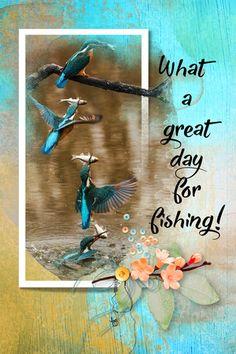 Kingfisher  Photo: Pixabay Kingfisher, Digital Scrapbooking, Digital Art, Posters, Wall Art, Day, Painting, Common Kingfisher, Painting Art