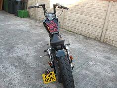 Suzuki Savage Bobber | Flickr - Photo Sharing!