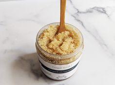 Organic Sugar Scrub - Grapefruit Lavender, vegan - 8 oz