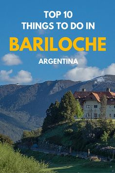 Did you know that Bariloche is situated in Argentina's oldest national park? This combined with its Swiss style architecture makes for one pretty scenic city. If you're thinking about a trip here, or to northern Patagonia, make sure to check out our top things to see and do in this all year round destination.