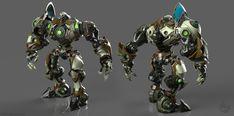 ArtStation - World Destroyer Bot, Thomas Sincich