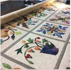 The quilting - Applique Affair, Edyta Sitar (Laila Nelson)