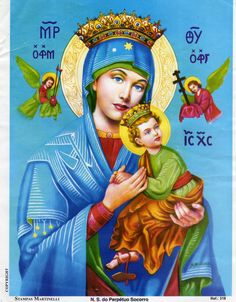 Our Lady of Perpetual Help aka Virgin of the Passion