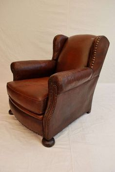 late 19 th French club chair 2