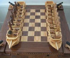 War of 1812 Chess Set | DudeIWantThat.com
