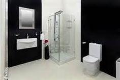 Image result for black and white bathroom tiles