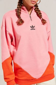 new style 6ad99 8c3c5 adidas Originals Colorado Quarter-Zip Sweatshirt