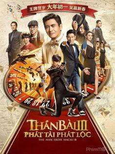Phim Đỗ Thánh Phong Vân 3 | Thần Bài Macau 3