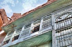الشناشيل -#فنعراقي أصيل يمتزج مع بيوتنا القديمة Old Baghdadi architectural style,  Baghdad, Iraq