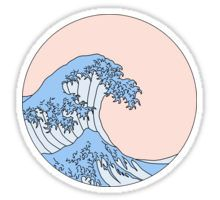 Aesthetic Wave Sticker